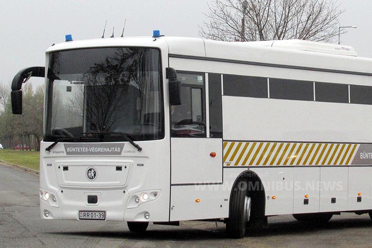 Neue Gefängnisbusse