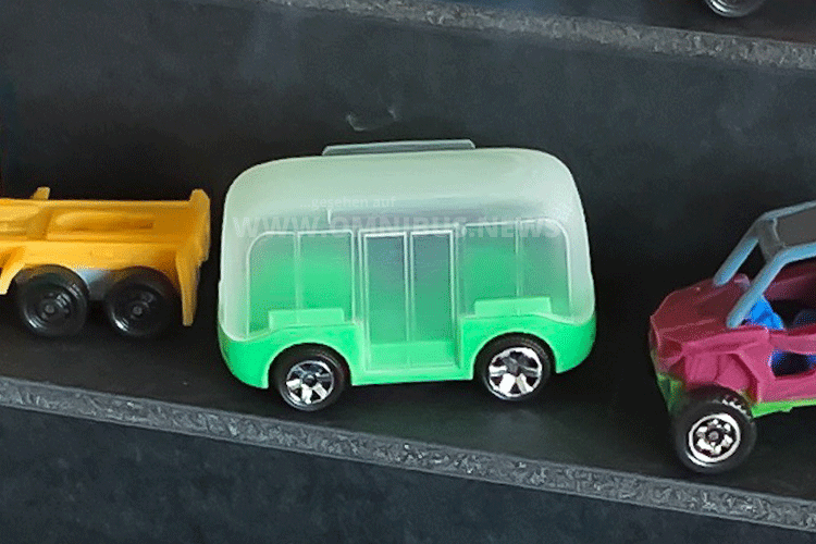 Autonomer Matchbox-Bus
