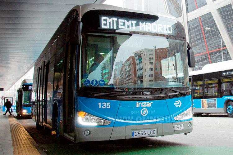 Irizar E-Busse für Madrid