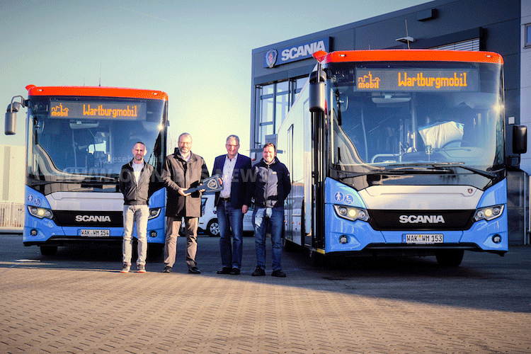 Wartburgmobil & Scania