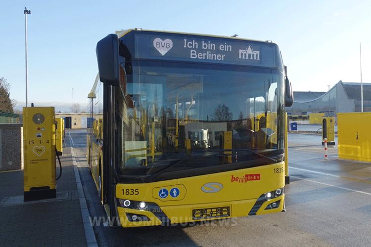Neue E-Busse eingetroffen