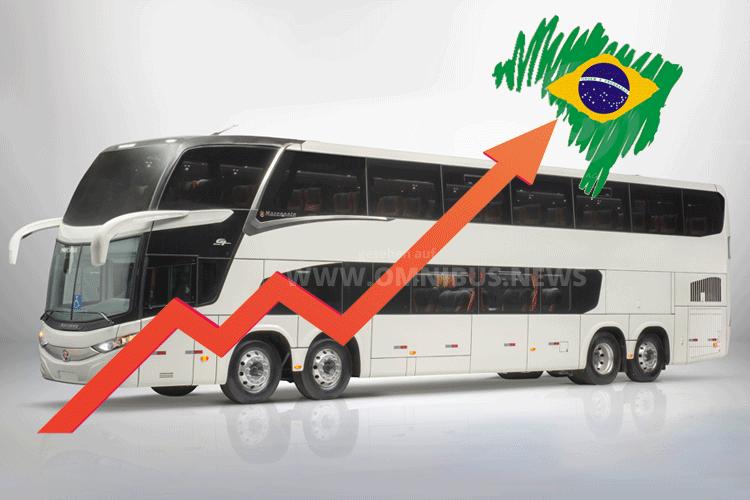 Busmarkt Brasilien legt zu