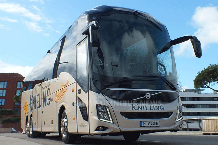 Knieling fährt Volvo 9900