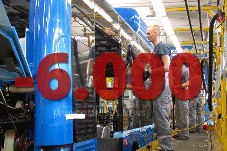 MAN: Minus 6.000 Stellen!