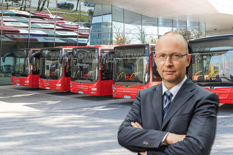 Neuer DB Regio Bus-Chef