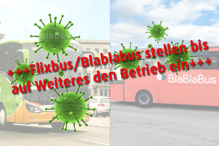 Fernbus-Betrieb eingestellt