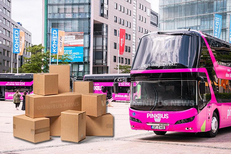 Pinkbus als Paketbus?