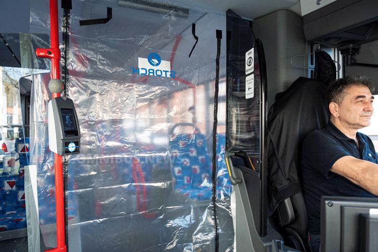 Fahrer-Schutztür