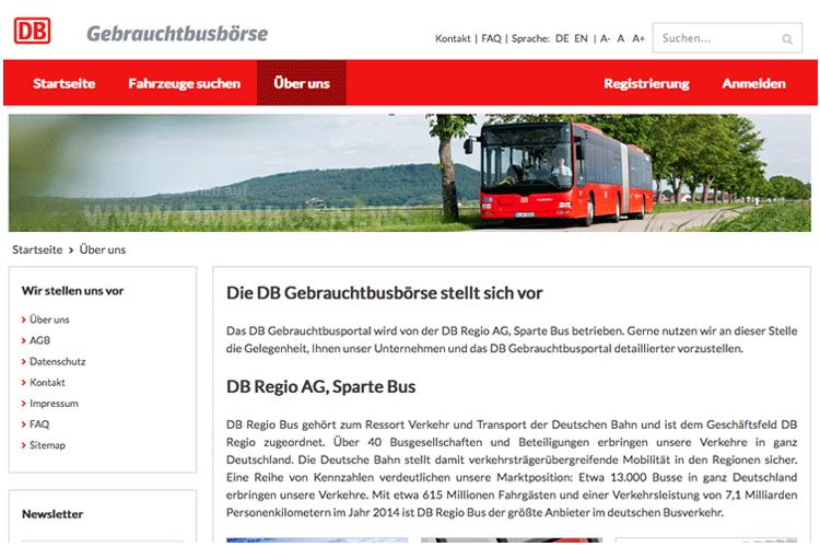 DB-Gebrauchtbusbörse