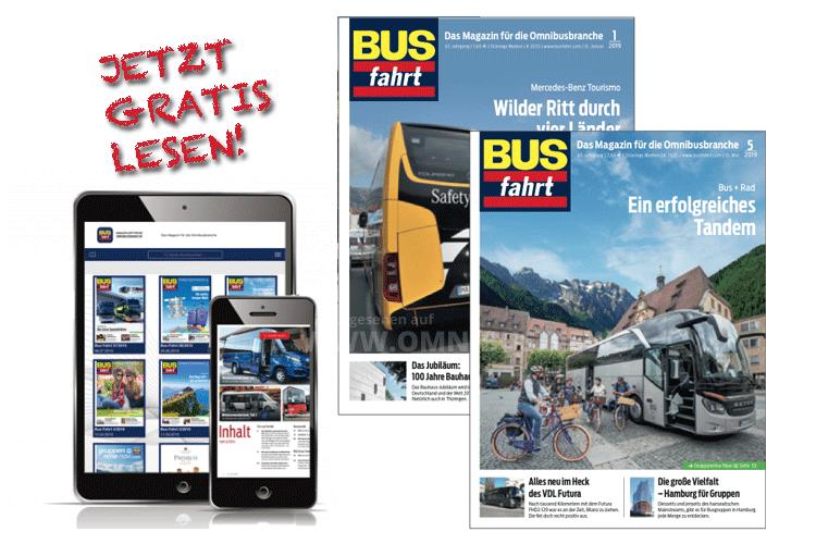 Busfahrt gratis lesen