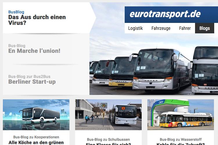 Neues vom Bus-Blogger