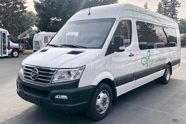 Autonomer E-Minibus