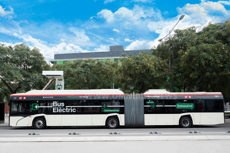 Weitere E-Busse für TMB