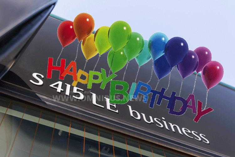 Fünf Jahre LE business