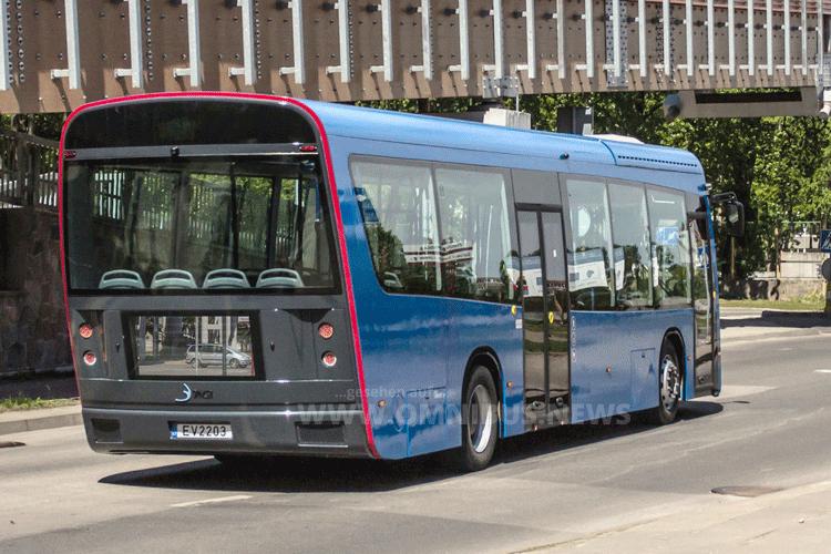 E-Bus aus Litauen