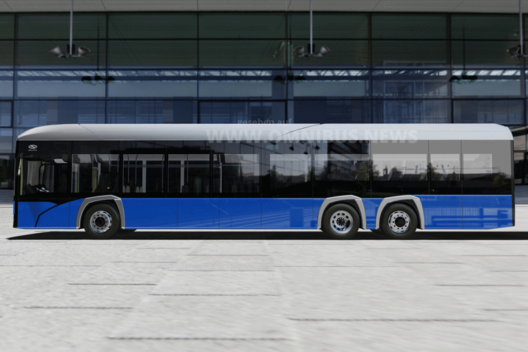 15m E-Bus im Bau