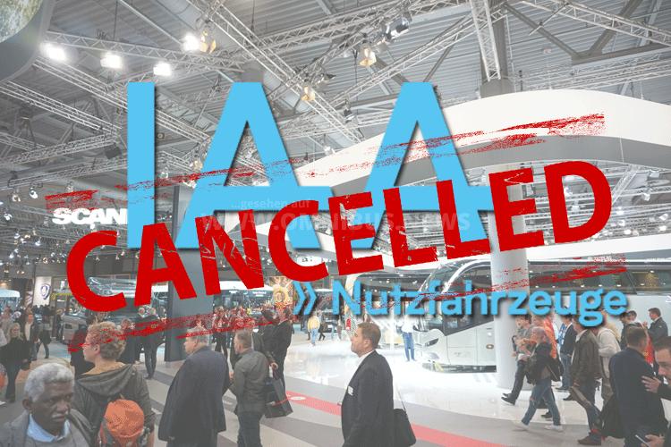 IAA-Nfz 2020 abgesagt