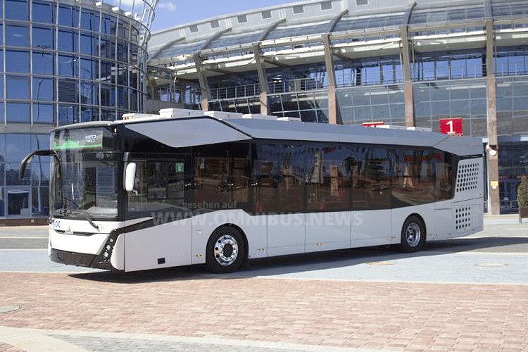 E-Bus-Rollout von MAZ