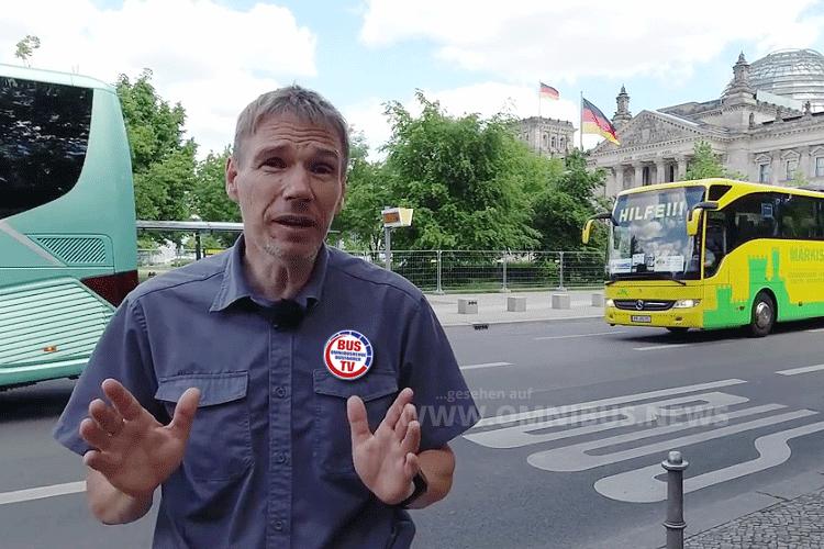 BUS TV live aus Berlin