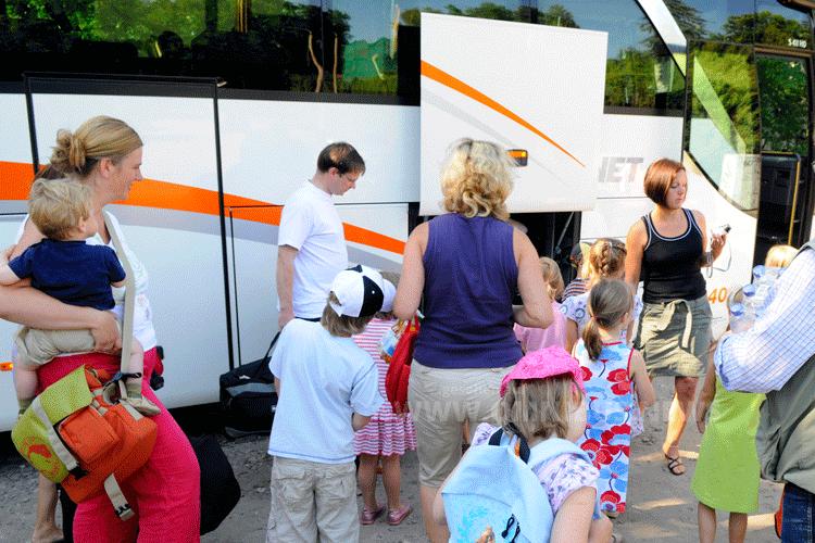 Klassenfahrten ohne Bus?