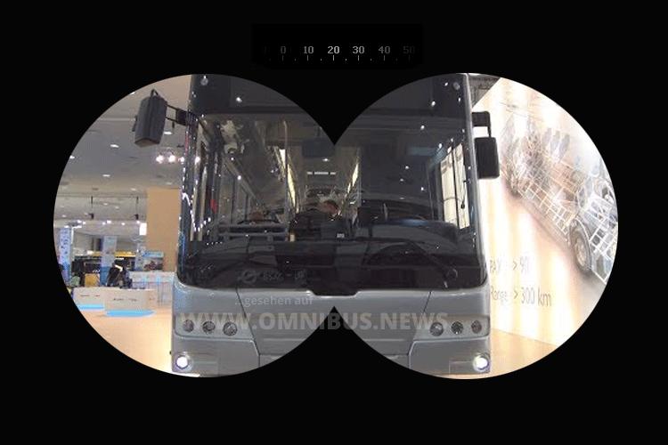 Modellbus von Ebusco