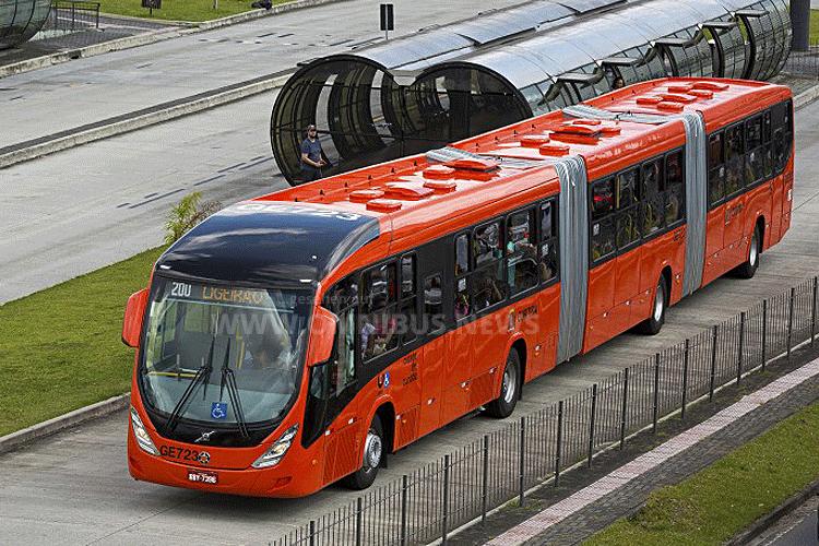 Curitiba fährt auf Volvo ab
