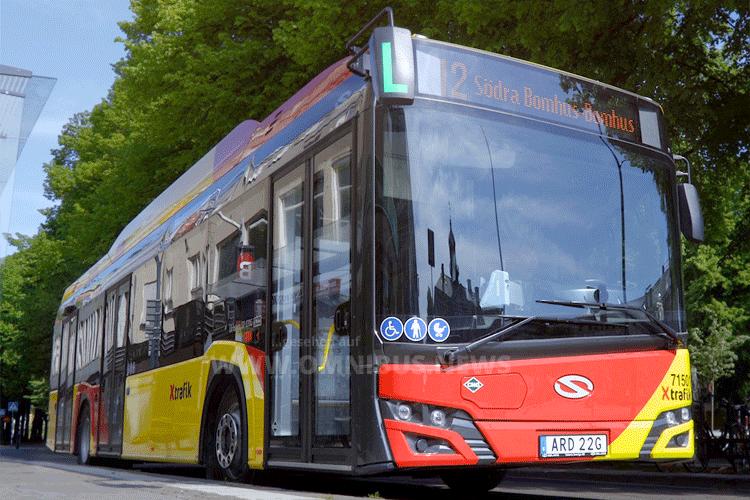 Vy Buss fährt Urbino CNG