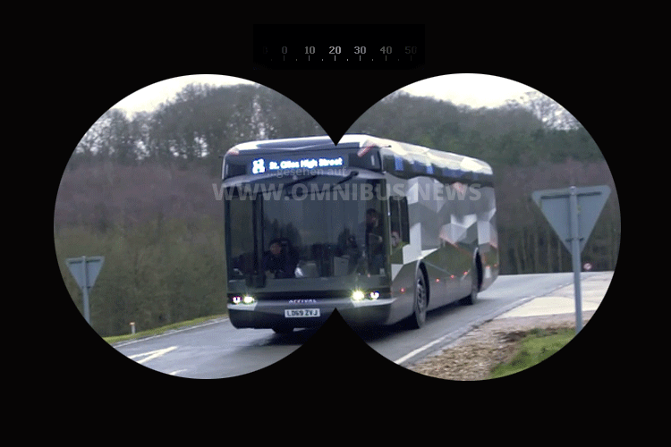 Innovativer E-Bus in Sicht