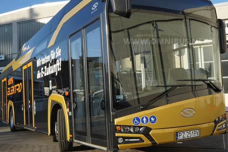 29 weitere E-Busse für OVB