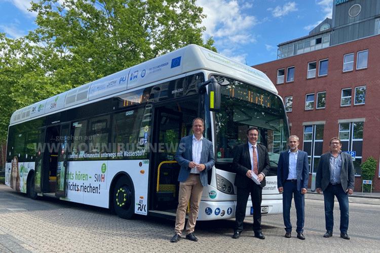 Europaweit größte H2-Busflotte