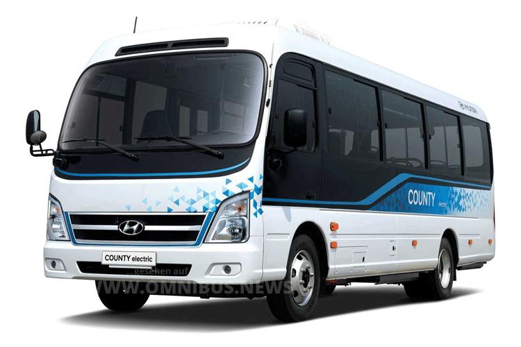 Neuer E-Bus von Hyundai