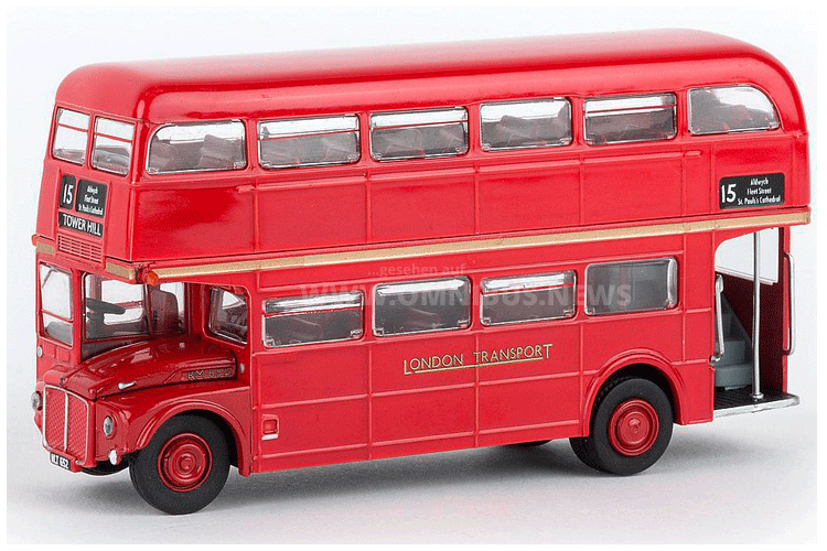 AEC Routemaster in 1/87