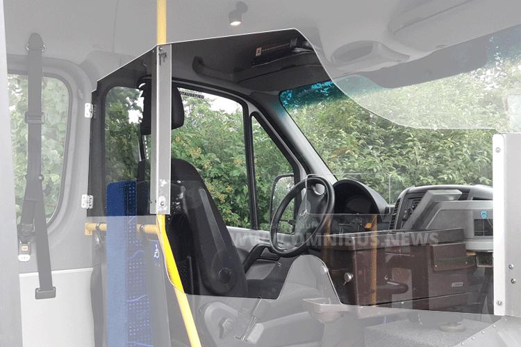 Fahrerschutz für Midis