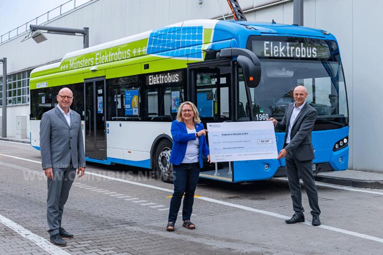 E-Bus-Flotte wächst