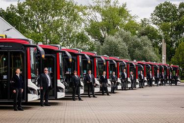 14 neue Busse für Erfurt