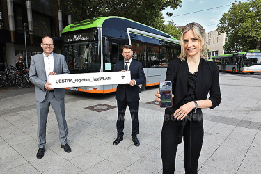 Üstra-Busse mit WLAN