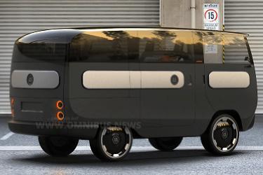 Knuffiger Mini-E-Bus