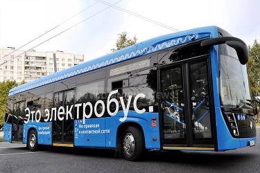 Moskaus E-Bus-Flotte