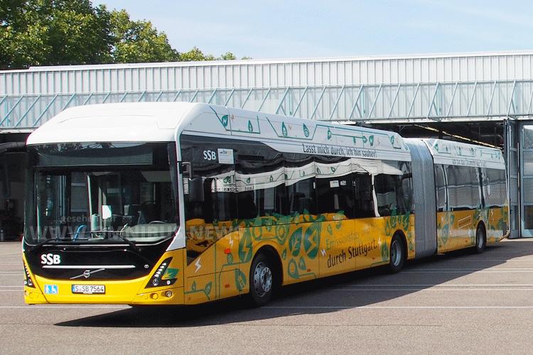 SSB fährt 1. Volvo 7900 EA