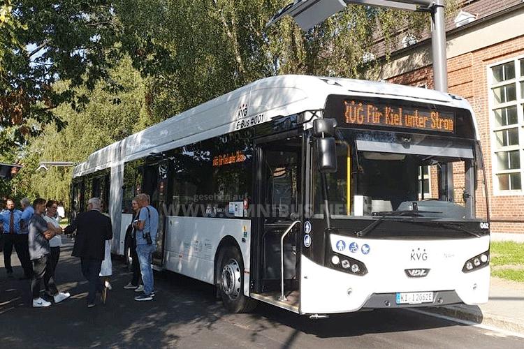 Erste E-Busse in Kiel