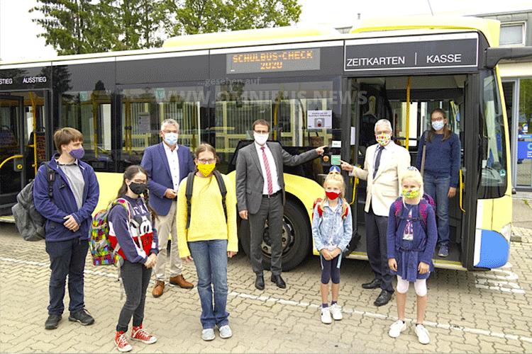 Zehnter Schulbus-Check