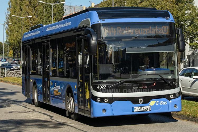 8 Ebusco für München