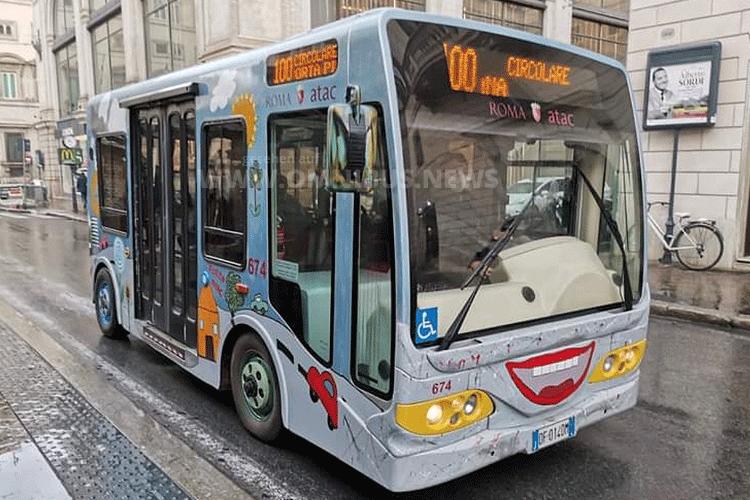 Roms 3. E-Bus-Linie