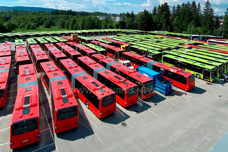 127 MAN für Unibuss