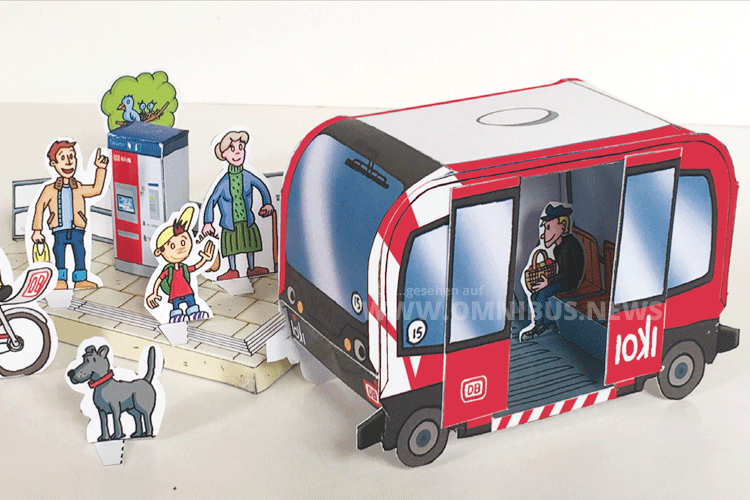 Autonomer Bus zum Basteln