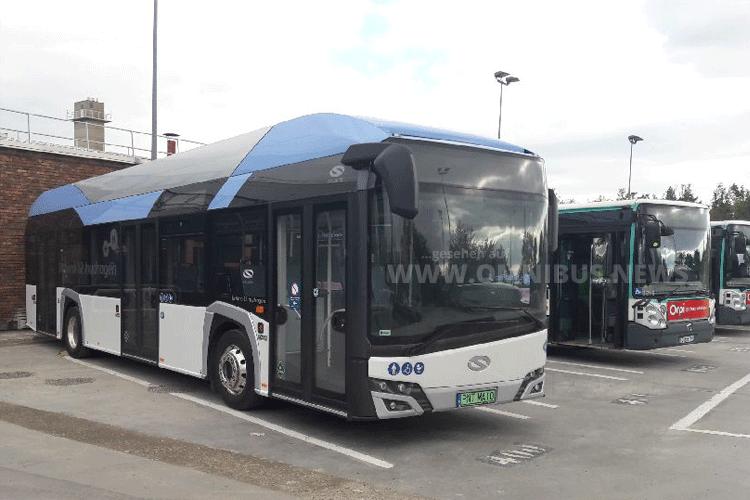 RATP erprobt Solaris H2-Bus