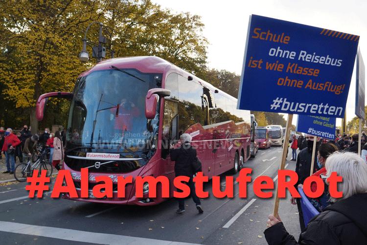 Knockdown für Reisebusse