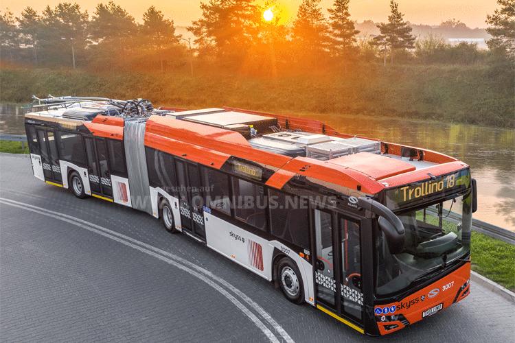 Bergen setzt auf O-Busse