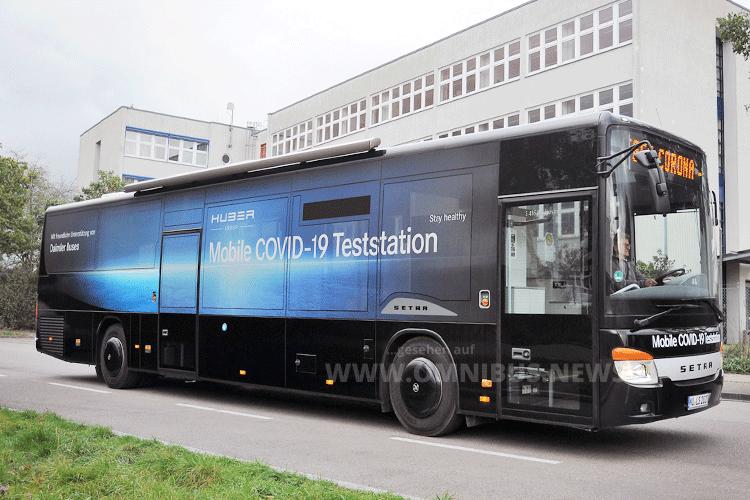 COVID-19-Testbus