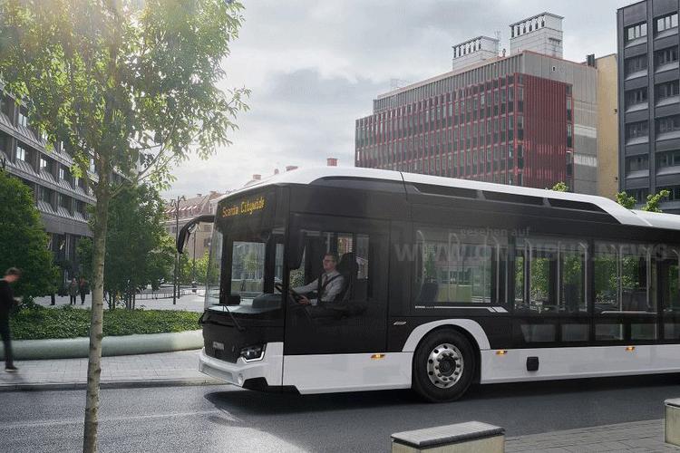 Zehn E-Busse für Östersund